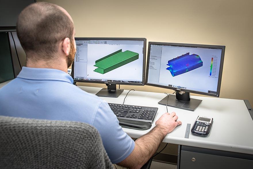 Canadian North Engineer on CAD
